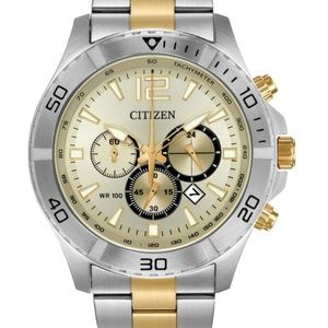 Citizen Men's Chronograph Two-Tone Stainless Steel